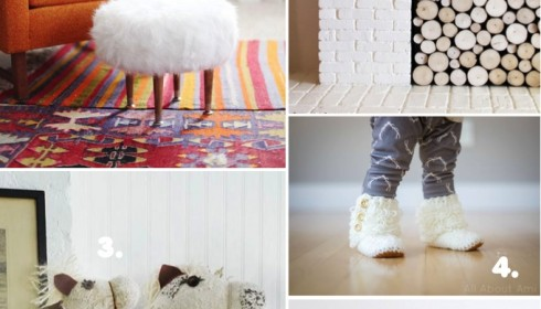 DIY cosy winter projects