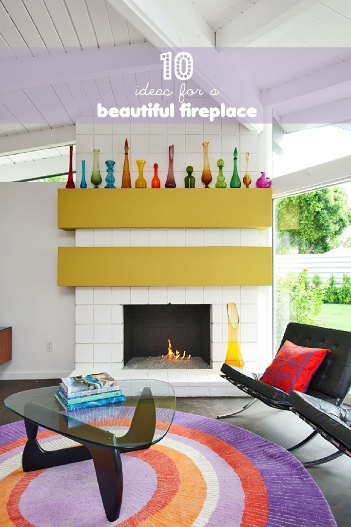 10 ideas for an beautiful fireplace | This Little street : This ...