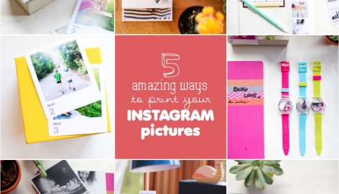 5 amazing ways to print your instagram pictures