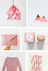 etsy PINK selection