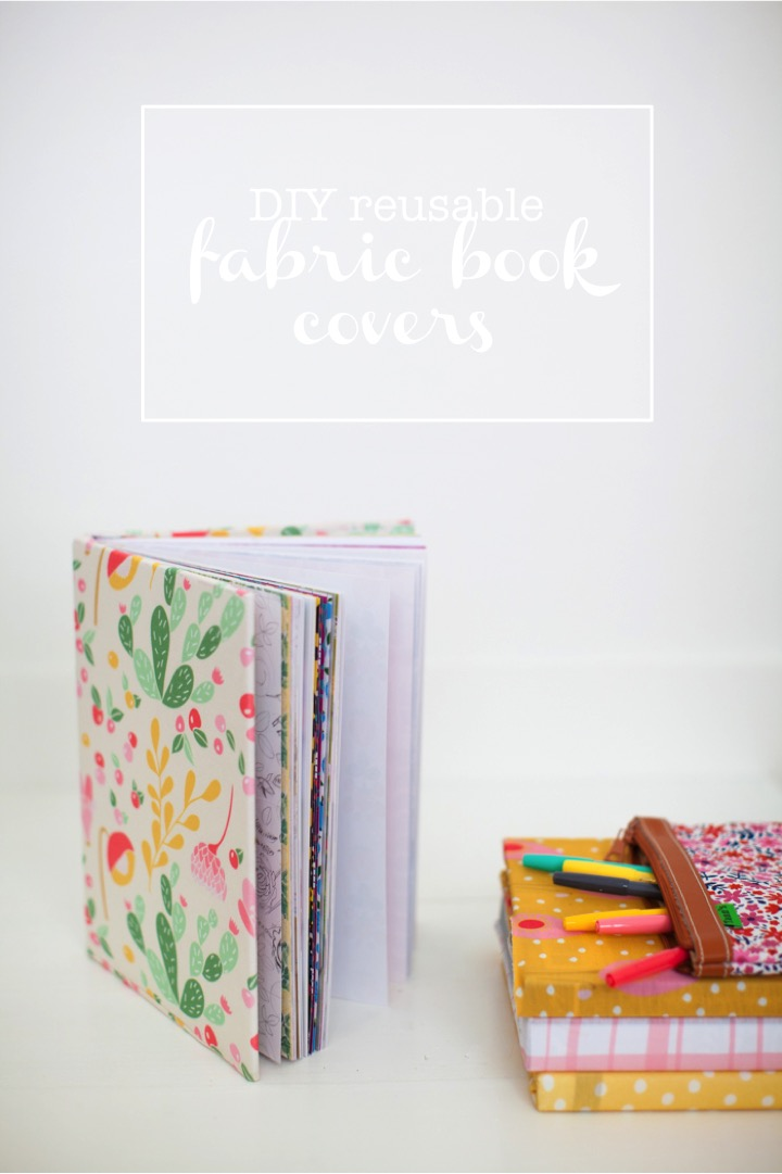 Fabric Book Covers Target : Quality sewing tutorials reusable fabric book covers